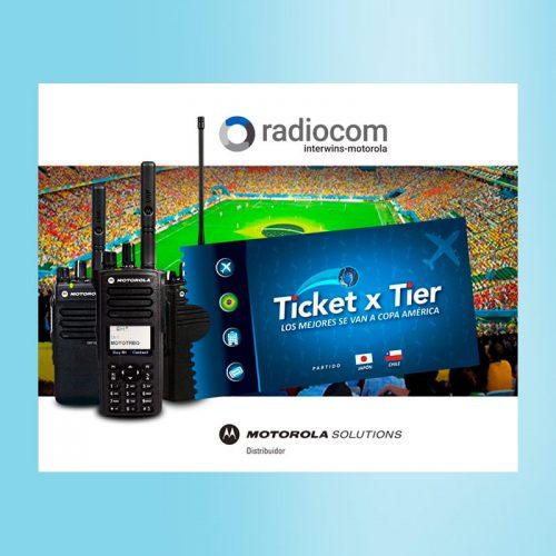 Campaña Copa América Radiocom Chile
