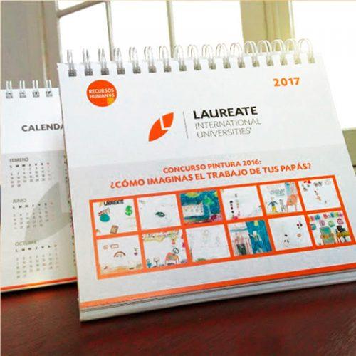 Calendario de escritorio Laureate