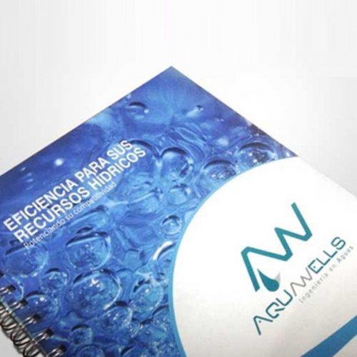 Cuaderno Aquawells