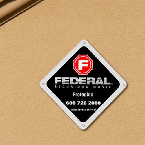 Letrero Federal