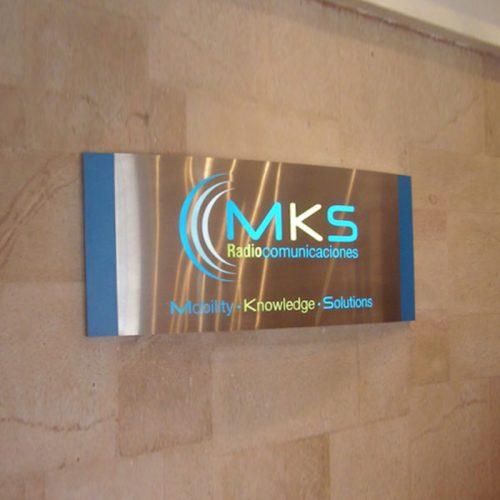 Letrero MKS