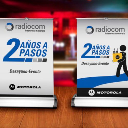 Mini Pendón Radiocom