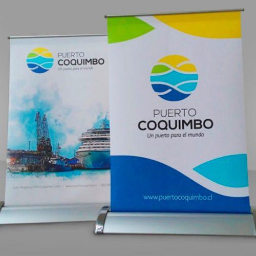 Mini pendón Puerto Coquimbo