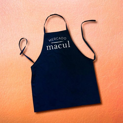Pechera estampada Mercado Macul Bullet Marketing & Merchandising