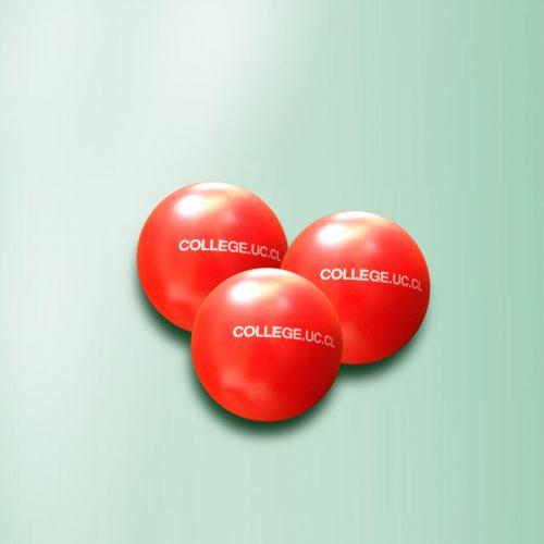 Pelota antiestrés College UC