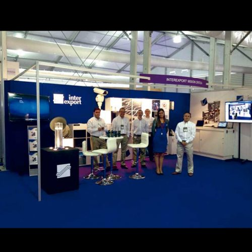Stand Interexport Expomin 2014