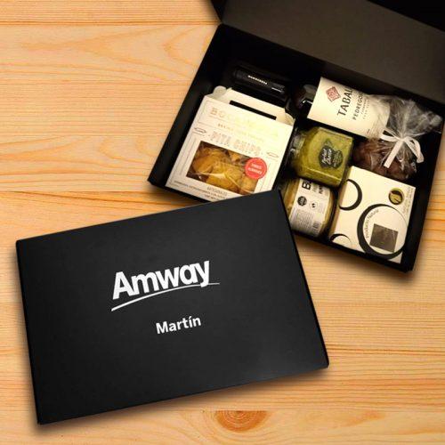 Caja Gourmet Amway